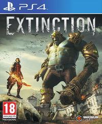 Portada oficial de Extinction para PS4