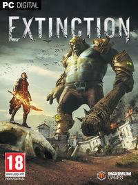 Portada oficial de Extinction para PC