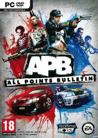 Portada oficial de All Points Bulletin para PC