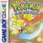 Portada oficial de de Pokémon Edición Oro y Plata CV para Nintendo 3DS