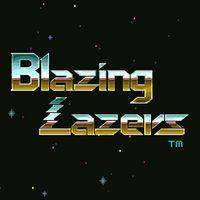 Portada oficial de Blazing Lazers CV para Wii U
