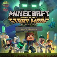 Portada oficial de Minecraft Story Mode: Season Two - Episode 1: Hero in Residence para PS4