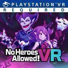 Portada oficial de de No Heroes Allowed! para PS4