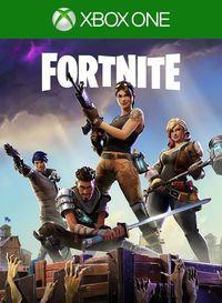 Portada oficial de Fortnite para Xbox One