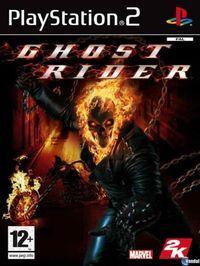 Portada oficial de Ghost Rider para PS2