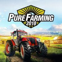 Portada oficial de Pure Farming 2018 para PS4