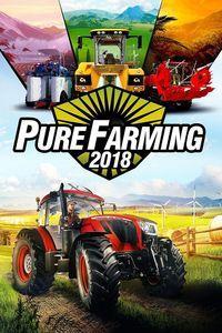 Portada oficial de Pure Farming 2018 para Xbox One
