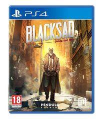 Portada oficial de Blacksad: Under the Skin para PS4
