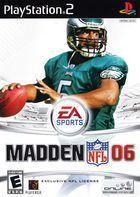 Portada oficial de de Madden NFL 2006 para PS2