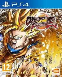 Portada oficial de Dragon Ball FighterZ para PS4