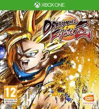 Portada oficial de Dragon Ball FighterZ para Xbox One