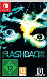 Portada oficial de Flashback para Switch