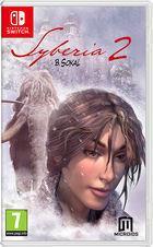 Portada oficial de de Syberia 2 para Switch