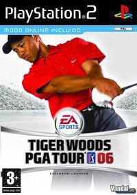Portada oficial de Tiger Woods PGA Tour 06 para PS2