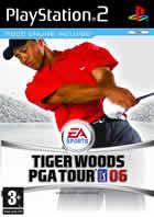 Portada oficial de de Tiger Woods PGA Tour 06 para PS2