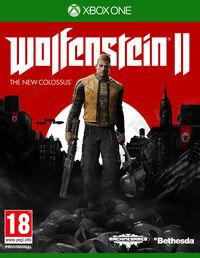 Portada oficial de Wolfenstein II: The New Colossus para Xbox One