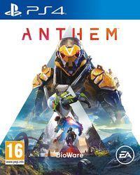 Portada oficial de Anthem para PS4