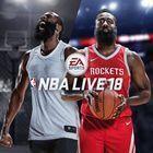 Portada oficial de de NBA Live 18 para PS4