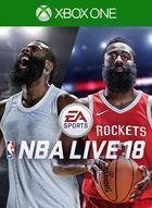 Portada oficial de de NBA Live 18 para Xbox One