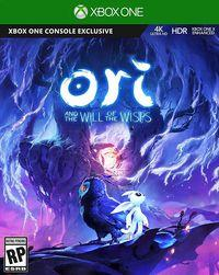 Portada oficial de Ori and the Will of the Wisps para Xbox One