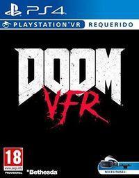 Portada oficial de Doom VFR para PS4