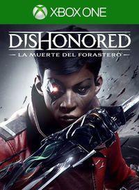 Portada oficial de Dishonored: La muerte del Forastero para Xbox One