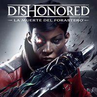 Portada oficial de Dishonored: La muerte del Forastero para PS4
