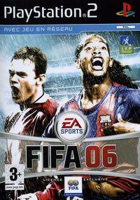 Portada oficial de FIFA 06 para PS2