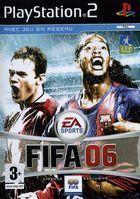 Portada oficial de de FIFA 06 para PS2