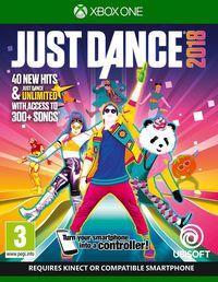 Portada oficial de Just Dance 2018 para Xbox One