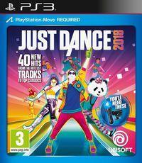 Portada oficial de Just Dance 2018 para PS3