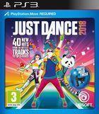 Portada oficial de de Just Dance 2018 para PS3
