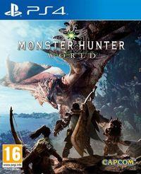 Portada oficial de Monster Hunter World para PS4