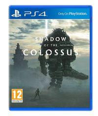Portada oficial de Shadow of the Colossus (Remake) para PS4