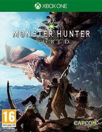 Portada oficial de Monster Hunter World para Xbox One