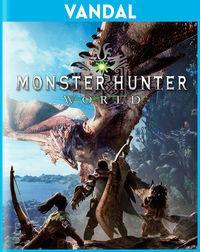 Portada oficial de Monster Hunter World para PC
