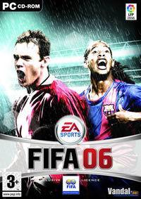 Portada oficial de FIFA 06 para PC