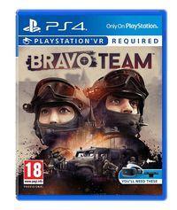 Portada oficial de Bravo Team para PS4