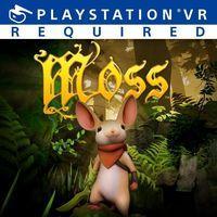 Portada oficial de Moss para PS4