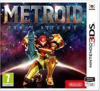 Portada oficial de Metroid: Samus Returns para Nintendo 3DS