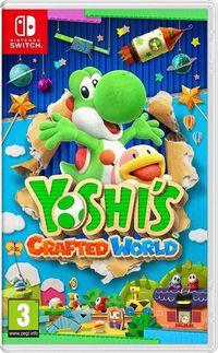 Portada oficial de Yoshi's Crafted World para Switch