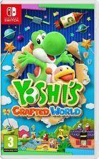 Portada oficial de de Yoshi's Crafted World para Switch