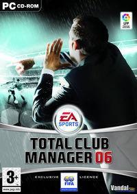 Portada oficial de Total Club Manager 2006 para PC