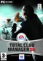 Portada oficial de de Total Club Manager 2006 para PC