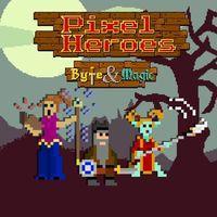Portada oficial de Pixel Heroes: Byte & Magic para PS4