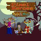 Portada oficial de de Pixel Heroes: Byte & Magic para PS4