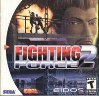 Portada oficial de Fighting Force 2 para Dreamcast