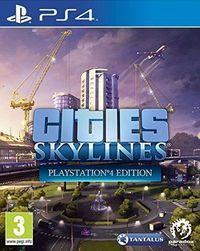 Portada oficial de Cities: Skylines para PS4