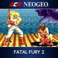 Portada oficial de NeoGeo Fatal Fury 2 para PS4