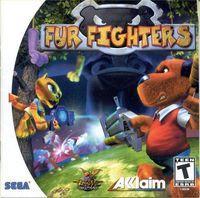 Portada oficial de Fur Fighters para Dreamcast